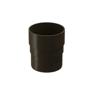 Docke Premium соединитель трубы шоколад Ø120/85 мм