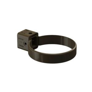Docke Premium хомут крепления трубы шоколад Ø120/85 мм