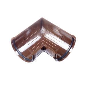 Docke Стандарт угол желоба универсальный 90 градусов коричневый