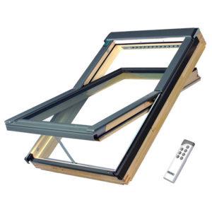 FAKRO FTP-V U3 Z-Wave Люкс деревянное мансардное окно
