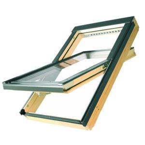 FAKRO FTP-V U3 Профи деревянное мансардное окно