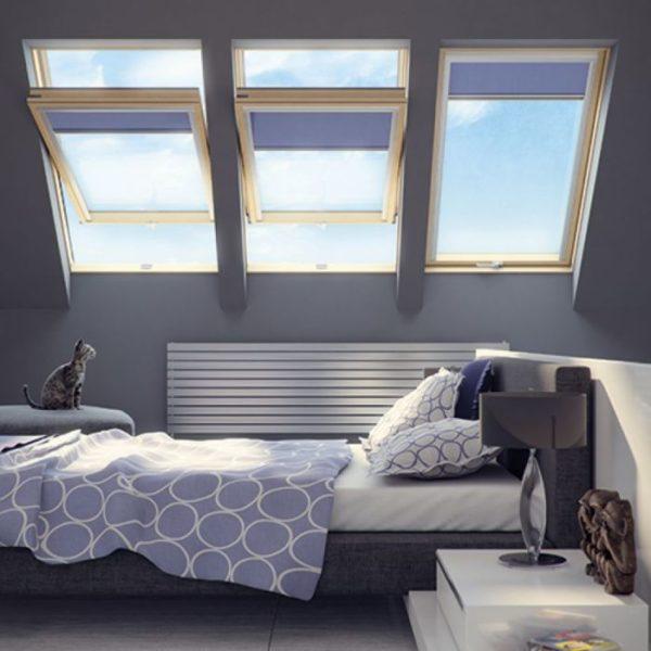 FAKRO FTS U2 Стандарт деревянное мансардное окно