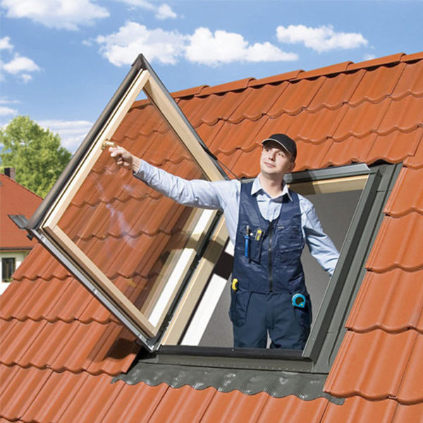FAKRO FW U3 Профи термоизоляционное распашное окно