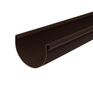 Gamrat желоб водосточный 3 метра коричневый