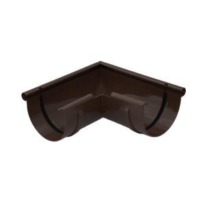 Gamrat угол желоба 90 градусов внешний коричневый