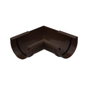 Gamrat угол желоба 90 градусов внутренний коричневый