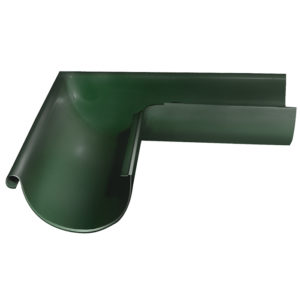 Grand Line угол желоба внешний 90 градусов Ø125/90 мм RR 11 темно-зеленый
