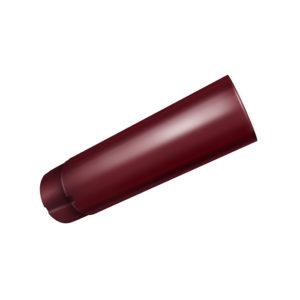 Grand Line труба водосточная 3 метра Ø125/90 мм RAL 3005 красное вино