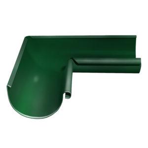 Grand Line угол желоба внутренний 90 градусов Ø125/90 мм RAL 6005 зеленый мох