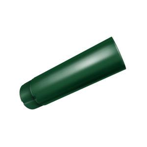 Grand Line труба водосточная 3 метра Ø125/90 мм RAL 6005 зеленый мох