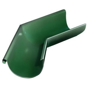 Grand Line угол желоба внешний 135 градусов Ø125/90 мм RAL 6005 зеленый мох