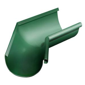 Grand Line угол желоба внутренний 135 градусов Ø125/90 мм RAL 6005 зеленый мох