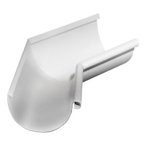 Grand Line угол желоба внутренний 135 градусов Ø125/90 мм RAL 9003 сигнальный белый