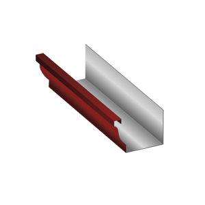МП Модерн желоб водосточный 3 метра красный RAL363