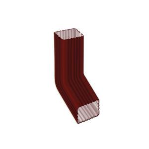 МП Модерн колено трубы красный RAL363