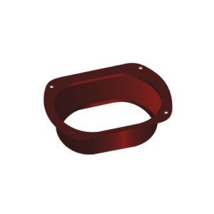 МП Модерн воронка желоба красный RAL363