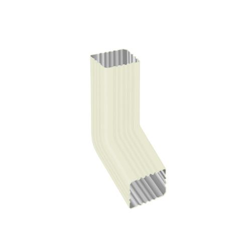 МП Модерн колено трубы белый RAL9010