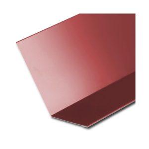 Планка примыкания верхняя красный RAL3011