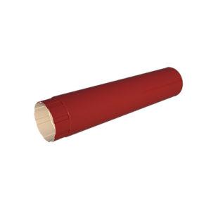 МП Проект труба водосточная 3 метра красный RAL3011