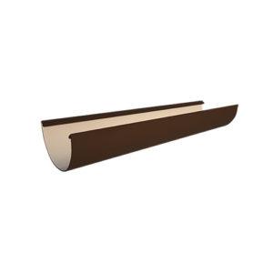 МП Проект желоб водосточный 3 метра коричневый RAL8017