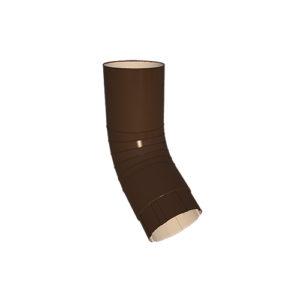 МП Проект колено трубы коричневый RAL8017