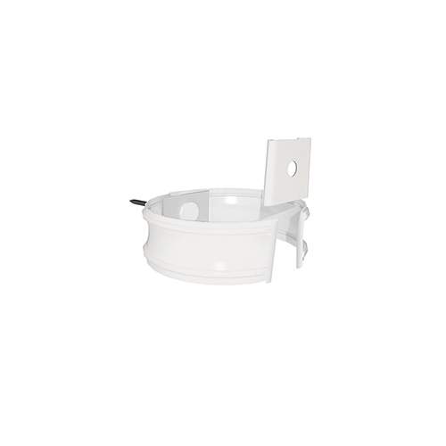 МП Проект хомут трубы белый RAL9003