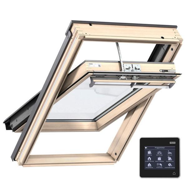 VELUX Классика двухкамерное окно GGL 3068 с дистанционным управлением INTEGRA