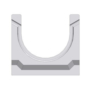 Лоток Gidrolica BGU DN100 бетонный H125