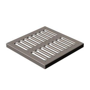 Решетка штампованная стальная для дождеприемника