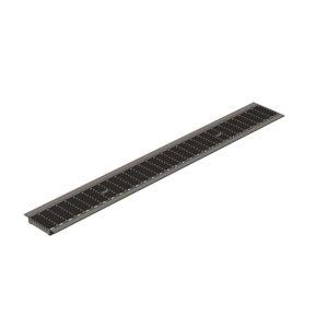 Решетка водоприемная Gidrolica Standart DN100 ячеистая стальная