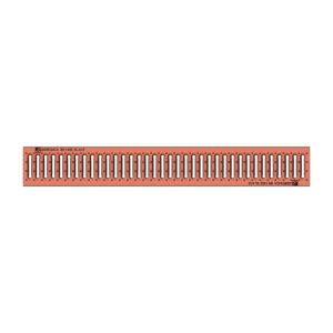 Решетка водоприемная Gidrolica Standart DN100 штампованная медная