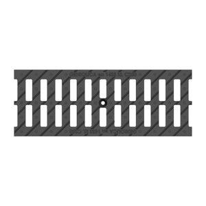 Решетка водоприемная Gidrolica Standart DN150 щелевая чугунная