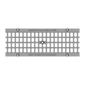 Решетка водоприемная Gidrolica Standart DN150 ячеистая чугунная