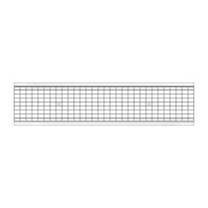 Решетка водоприемная Gidrolica Standart DN200 ячеистая стальная