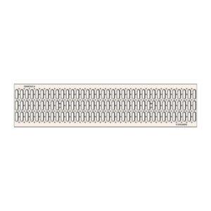 Решетка водоприемная Gidrolica Standart DN200 штампованная стальная