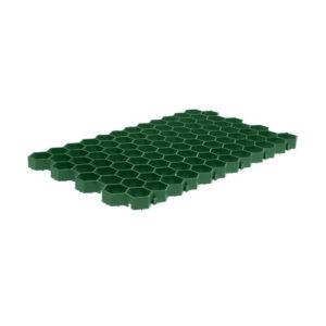 Газонная решетка пластиковая 700 х 400 мм зеленая