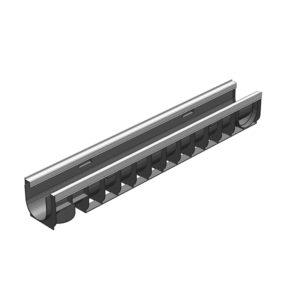 Лоток Gidrolica Standart Plus DN100 пластиковый (усиленный) H135