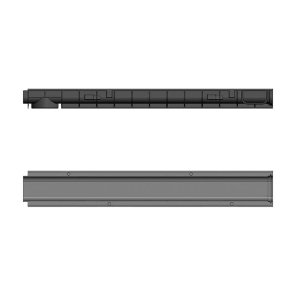 Лоток Gidrolica Standart DN100 пластиковый H80