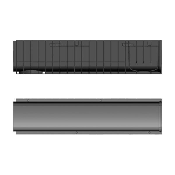 Лоток Gidrolica Standart DN200 пластиковый H235