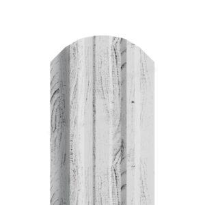Металлический штакетник МП LANE беленый дуб