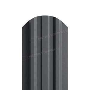 Металлический штакетник МП LANE матовый 7024