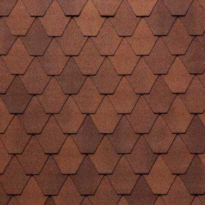 Tegola Nordland коллекция Лемех коричневый