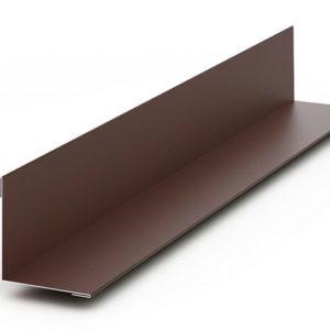 Планка угла наружного/внутреннего 75х75 L-брус Ecosteel