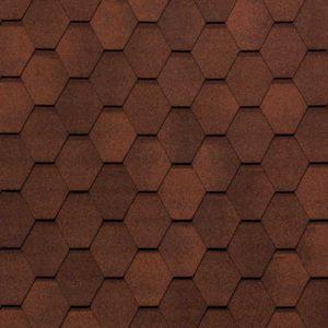Tegola Nobil Tile коллекция Вест красно-коричневый