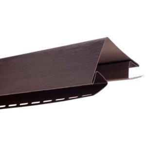 Угол внешний Альта Профиль Блок Хаус коричневый