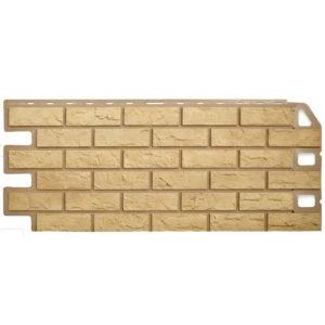 Альта Профиль фасадные панели Кирпич желтый