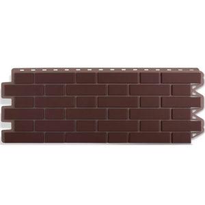 Альта Профиль фасадные панели Кирпич клинкерный коричневый