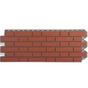 Альта Профиль фасадные панели Кирпич клинкерный красный