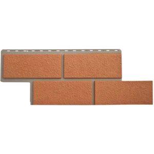 Альта Профиль фасадные панели Неаполитанский камень терракотовый