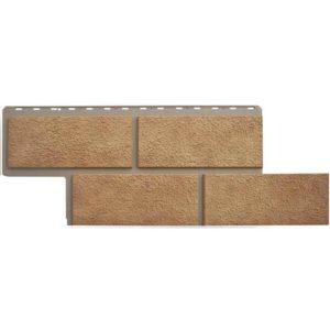 Альта Профиль фасадные панели Неаполитанский камень бежевый